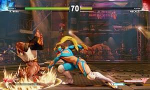 Street Fighter V screengrab