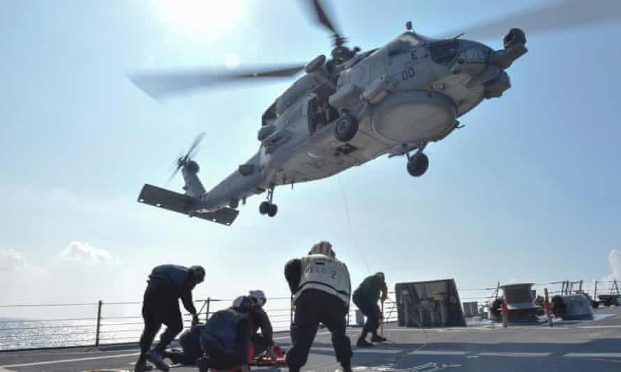 US navy South China Sea