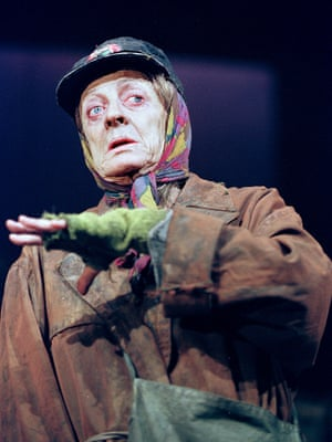 Maggie SMith played Alan Bennett's unconventional neighbour, The Lady in the Van, in the West End in 1999.