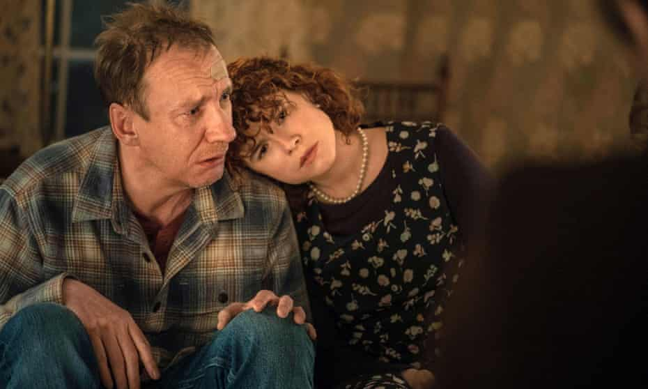 David Thewlis with Jessie Buckley in Charlie Kaufman's I'm Thinking of Ending Things.