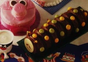 The original Colin cake in 1990