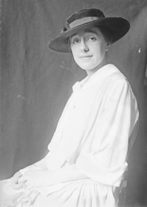 'She gravitated to the outcast' … Sophie Treadwell in 1916.