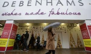 a Debenhams branch