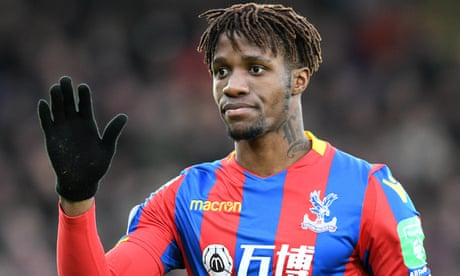 Crystal Palace stunned as Wilfried Zaha set to see knee specialist