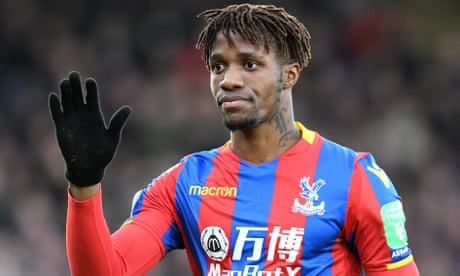 Wilfried Zaha could return for Palace at Chelsea after 'remarkable' recovery
