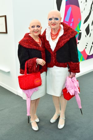Art world stalwarts EVA & ADELE, whom British readers may remember from their regular slot on Eurotrash.