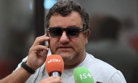 The Italian-born Dutch football agent Mino Raiola is detested by Alex Ferguson and Pep Guardiola.