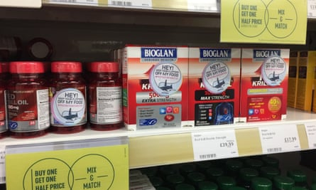 Greenpeace's Protect the Antarctic campaign targets Holland & Barrett's krill oil products.