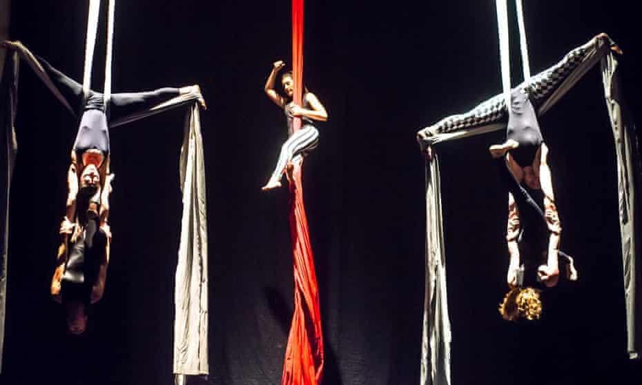A performance at Filodrammatica.