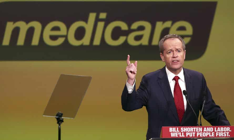 Bill Shorten at Labor party launch