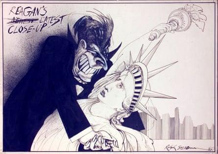Reagan and Dracula