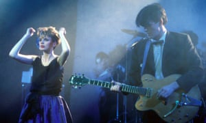 Altered Images, with lead singer Clare Grogan, in concert in 1985.