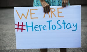 Donald Trump's decision to end the Daca program has been met with protests across the country.