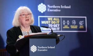 Patricia Donnelly, head of the vaccination programme in Northern Ireland.
