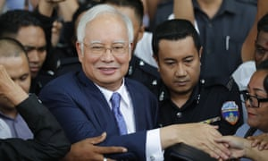 Malaysia's ex-PM Najib Razak goes on trial over 1MDB scandal   World