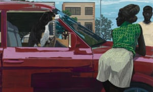 Kerry James Marshall Car Girl 2 2019. Courtesy the artist and David Zwirner, London