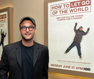 Josh Fox, director of How To Let Go Of The World at the movie's New York screening