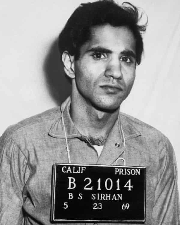 Sirhan Sirhan's official prison photo.