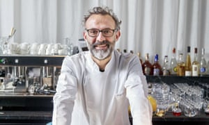 Italy's most renown three Michelin-starred chef Massimo Bottura