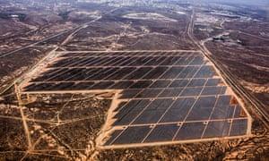Broken Hill solar plant.