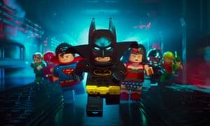 Back in black … The Lego Batman Movie.