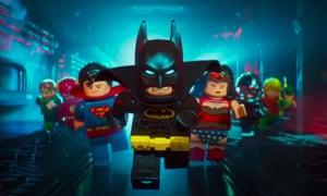 Postmodern comedy … The Lego Batman Movie
