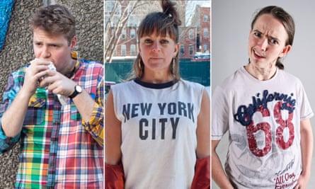 Tom Ballard, Adrienne Truscott and Zoe Coombs Marr