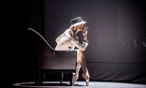 Svetlana Zakharova in Gabrielle Chanel at London Coliseum.