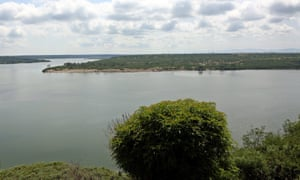 The Kazinga Channel in the Queen Elizabeth national park in western Uganda. Gunmen ambushed Kim Endicott and her Ugandan guide on 2 April.