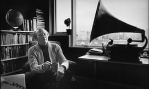 Roy Plomley, creator and original presenter of Desert Island Discs, in 1980.