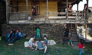 Tusheti, Georgia: people
