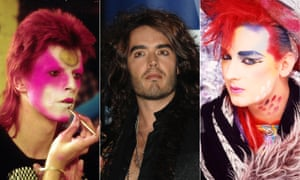 David Bowie, Russell Brand and Boy George makeup