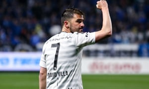 David Villa is seeing out his last playing days in Japan with Vissel Kobe and will concentrate on a football club he has founded in New York City.