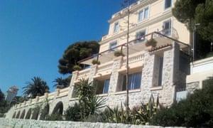 Villa Thalassa, Cap d'Ail, France.
