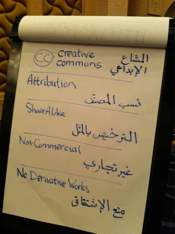 Arabic translation for Creative Commons licenses