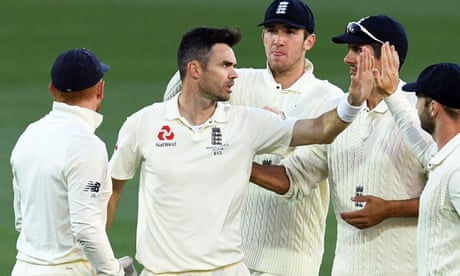 England left 'pretty frustrated' by batting collapse, says Jimmy Anderson
