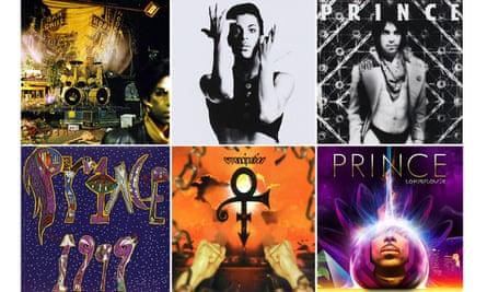 Prince albums composite