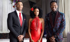 Jordan Calloway, Javicia Leslie, and Brandon Micheal Hall in Always a Bridesmaid