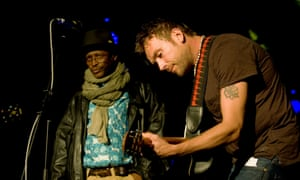 Damon Albarn at the now-closed Arches, Glasgow, in 2012.