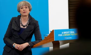 Theresa May's speech in Guisborough
