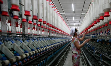 textile factory Jiujiang China