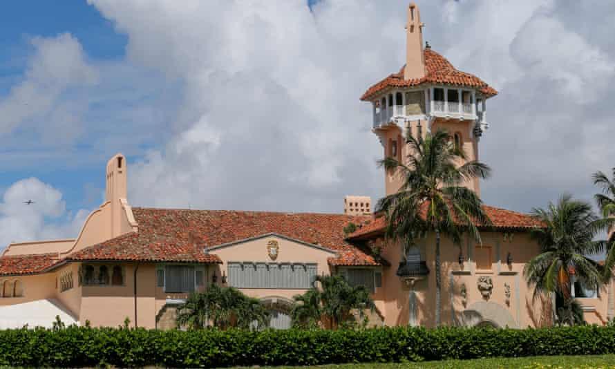Trump's Mar-a-Lago Club in Palm Beach, Florida.