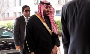 Saudi Arabia's deputy minister of defence, Prince Khalid bin Salman was in the US this week.