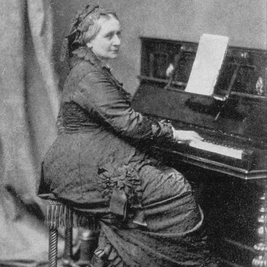 'What struck me is her incredible strength' - Isata Kanneh-Mason on Clara Schumann, pictured at the piano c1883