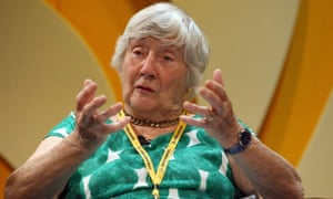 Shirley Williams at the Liberal Democrat conference in Birmingham in 2011