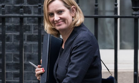 Amber Rudd, home secretary