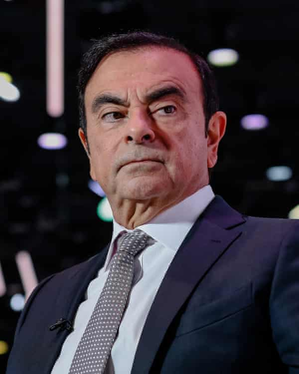 Carlos Ghosn, chair of the Nissan, Renault and Mitsubishi alliance.