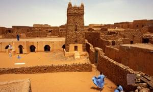 Desert-threatened Chinguetti in Mauritania.