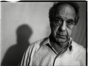 Robert Frank in his Bleecker Street studio, New York, 1994