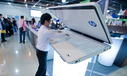 Netbooks got bigger over the years and effectively became low-end laptops, although not quite this big.